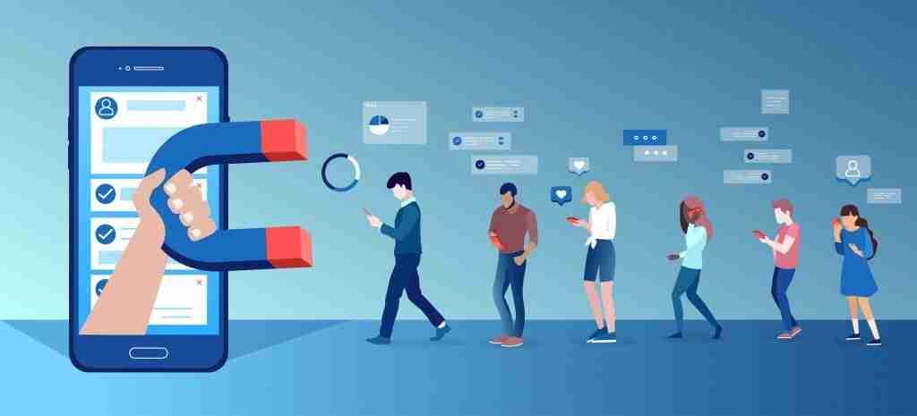 get more customers through social media marketing and digital marketing